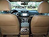 "INNX Pet Barrier Safety Net Dog Barrier-OP102001 (2019 Popular Design) Universal for Cars, Jeeps, Trucks, Suvs, Vehicles, Dogs, Pets, Seatback, Front Seat, Heavy Duty and Portable, 11"" W x 12.6"" H"