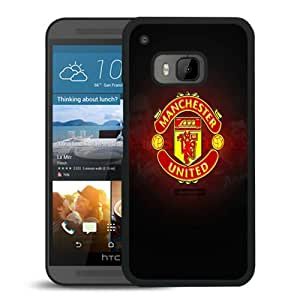 Hot Sale HTC ONE M9 Case ,Popular Unique Designed Case With Manchester United Logo Black For HTC ONE M9 Case High Quality Phone Case