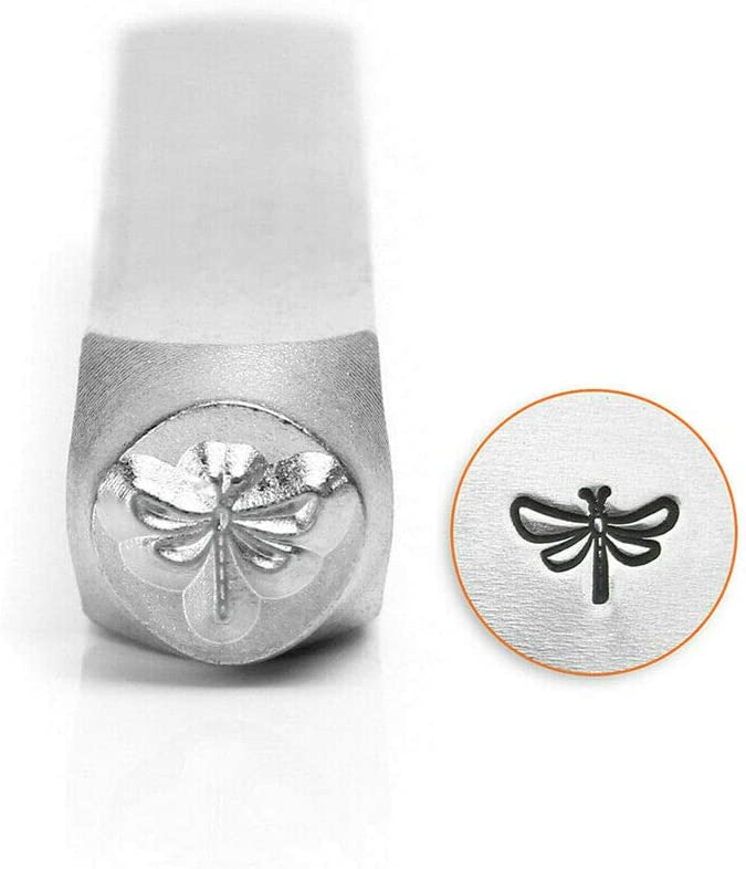 Dragonfly Stamp Punch Tool Carbon Steel Design Embellish Metal Jewelry