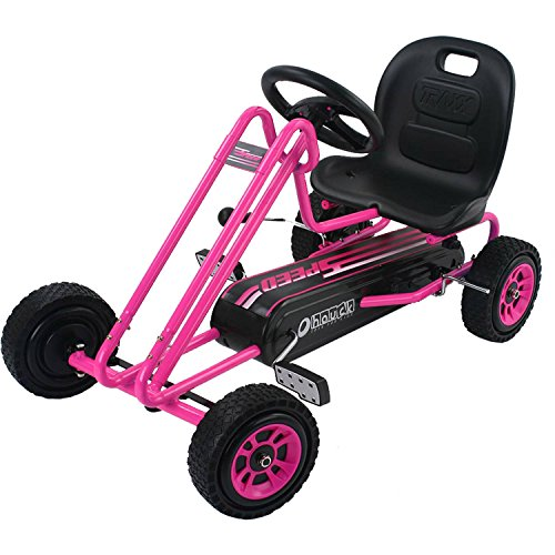 Speed Pedal Go Kart, Pink
