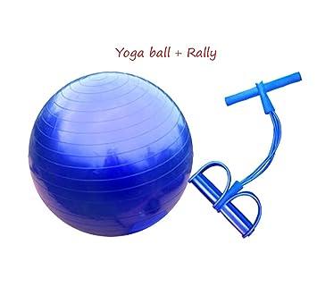 LLKOZZ Bola de Yoga + Rally, niño Adulto Gym Ball ...
