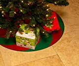 Elf Certified Christmas Tree Stand Mat for Floor