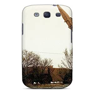 Dana Lindsey Mendez ToqYVFL8517cPETV Case Cover Skin For Galaxy S3 (scud Missile Site At Roswell)