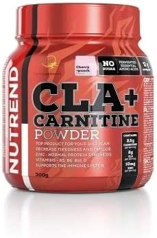 Nutrend CLA + Carnitine Pineapple + Pear 300g for Your Weight Loss Plan – Instant Drink Without Sugar and preservatives, which Lowers Physical and Mental Tiredness vitamines B5, B6, B12 and D