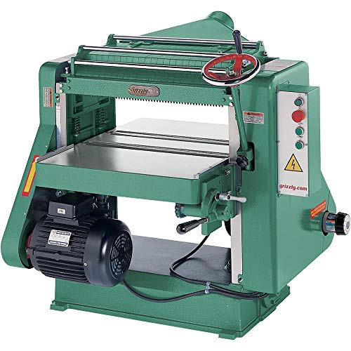 Grizzly G5851Z 5 HP Single-Phase  Planer, 24-Inch