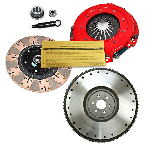Dual Friction Kit Clutch (EFT STAGE 3 HD DUAL-FRICTION CLUTCH KIT+ FLYWHEEL 86-95 MUSTANG / SVT COBRA 5.0L)
