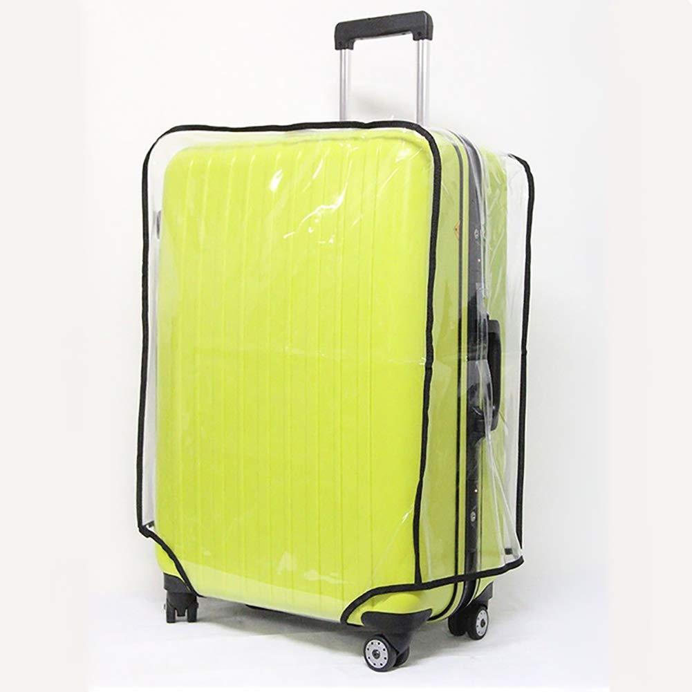 5starservices14 Housse de Protection Transparente pour Bagage de Voyage 45,7 /à 76,2 cm Anti-Rayures /étanche et Anti-Rayures 45,7 cm