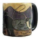 Mara Stoneware Mug - Fisherman- 16 oz