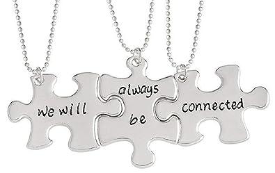 Lovelegis Tres Collares Puzzle - para 3 - Best Friends - We ...