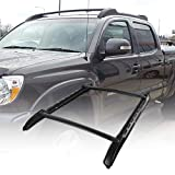 TOHUU Adjustable Aluminum 53'' Roof Rack Cross Bar Luggage Cargo Rack Rails Carrier Set with Lock for Toyota Tacoma 2005-2018