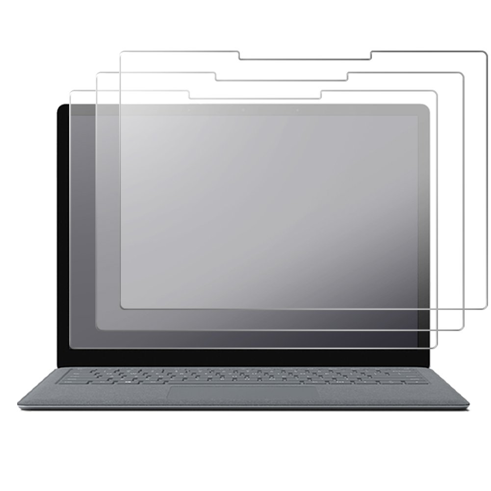 [3-Pack] Surface Laptop Screen Protector, J&D [Anti-Glare] [Anti-Fingerprint] Premium Matte Film Shield Screen Protector for Microsoft Surface Laptop (Release in 2017)