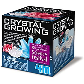 Amazon Crystal Growing Kit For Kids Evviva Sciences Science