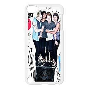 New arrival 5sos band Fans Hard Plastic phone Case For Samsung Case For Ipod Touch 5th RCX077149
