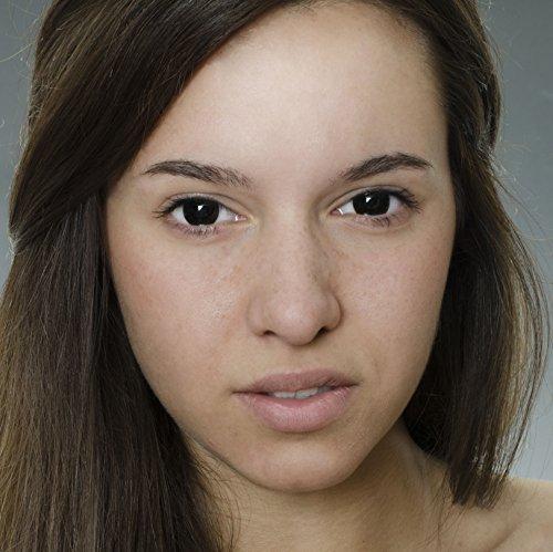 Eye Effect Farbige Kontaktlinsen Schwarz Ohne Starke Gratis