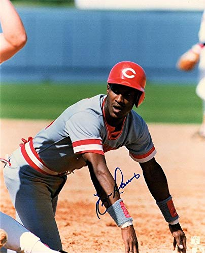 is (NFL) Photo - Cincinnati Reds 8x10 inch 1990 World Series Champion Guaranteed to pass BAS - Beckett Authentication ()