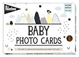 Milestone Baby Cards, Over The Moon