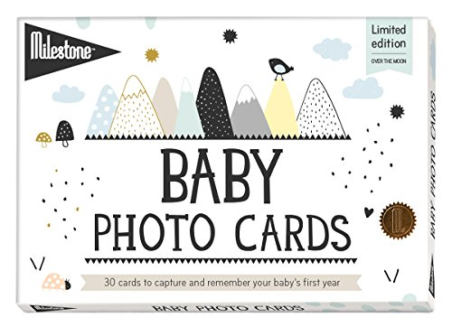 (Milestone Baby Cards, Over The Moon)