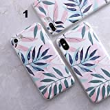 VT BigHome for i Phone X Granite Scrub Marble Stone Image Painted Silicone Phone Case for i Phone x case