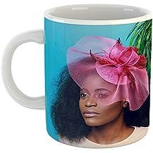 Westlake Art - Woman Portrait - 11oz Coffee Cup Mug - Modern Picture Photography Artwork Home Office Birthday Gift - 11 Ounce (27F1-EBA4B)