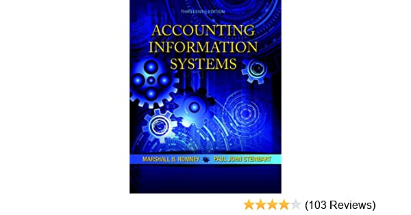 Amazon accounting information systems 13th edition amazon accounting information systems 13th edition 9780133428537 marshall b romney paul j steinbart books fandeluxe Choice Image