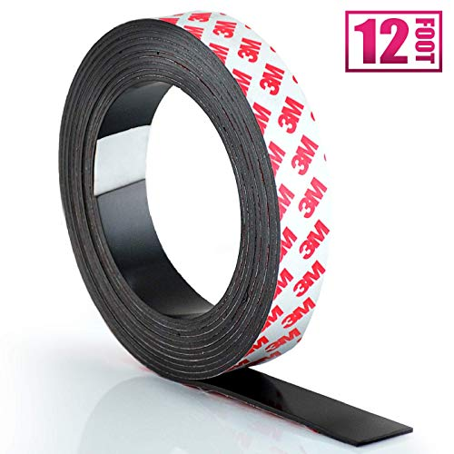Amazon.com: Rollo de cinta magnética adhesiva.: Office Products