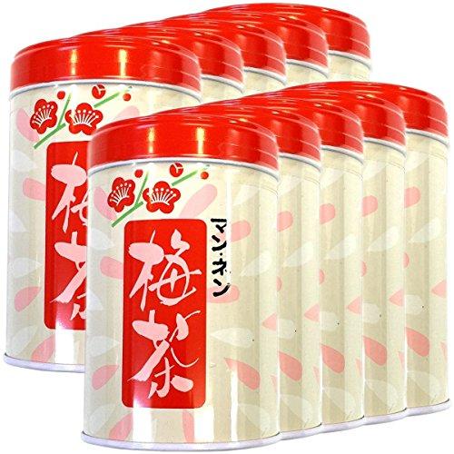 Japanese Tea Shop Yamaneen Plum-Tea In A Can 80G x 10packs by Japanese Tea Shop Yamaneen