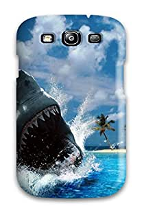 7188886K20880370 New Fashion Premium Tpu Case Cover For Galaxy S3 - Shark Desktop