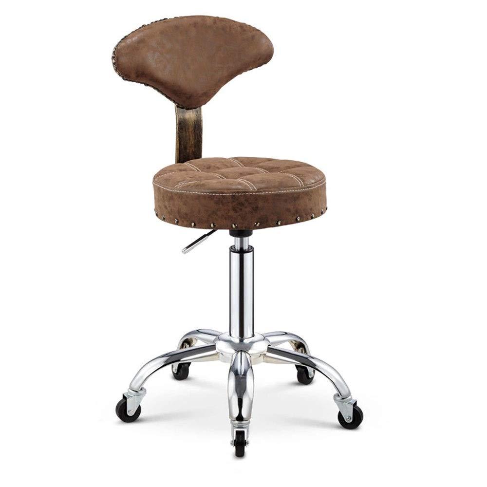 2 Bar Stool, Bar Chair, Bar Stool Set, Adjustable Bar Stool, Bar Stool, Backrest, The Bar Stool is Folded, Bar KTV Kitchen Office (Size   5)