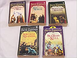 Book Complete Set of 5 the Malloreon Series: Guardian of West, King of Murgos, Demon Lord Karanda, Sorceress of Darshiva, Seeress of Kell