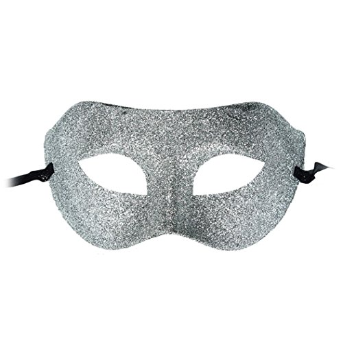 [Iuhan® Fashion Sexy Classic Masquerade Half Face Mask For Party Costume Ball (Silver)] (Classic Jason Costume)