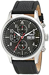 Ingersoll Men's IN1412GY Chumash Analog Display Automatic Self Wind Black Watch