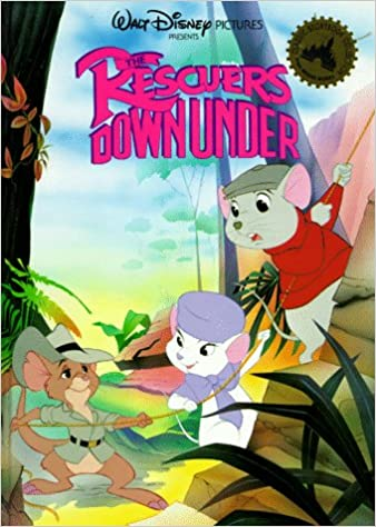 The Rescuers Down Under Mouse Works Classic Storybook Collection Walt Disney 9780831773892 Amazon Books