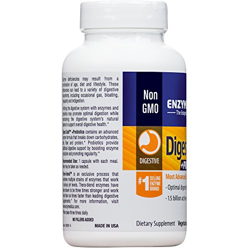 Enzymedica - Digest Gold + Probiotics, Advanced Digestive Enzymes + Probiotics for Essential Digest Care, 180 Capsules (FFP) by Enzymedica (Image #8)