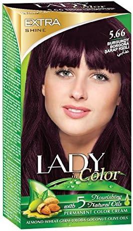 Lady Lady In Color 5.66 Borgoña 100 ml: Amazon.es: Belleza