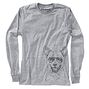 Aviator Arden The Australian Kelpie Dog Triblend T-Shirt 31