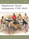 img - for Napoleonic Naval Armaments 1792 1815 (New Vanguard) book / textbook / text book
