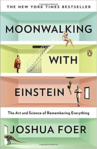 Image result for moonwalking with einstein amazon