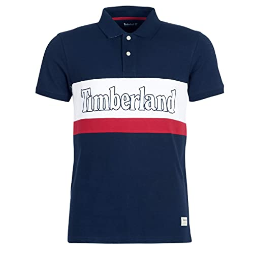 Timberland Polo SS Millers River Colour Block, Polo Shirt