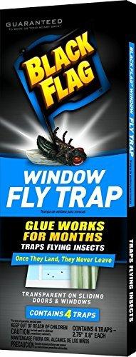 Black Flag Window Fly Trap