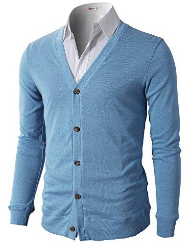H2H Casual Designed Sleeve Cardigan