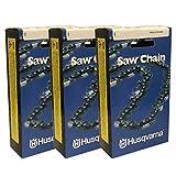 Husqvarna Set Of 3 OEM Chainsaw Chain H23 072G X 501840872 .325 .050 1.3mm