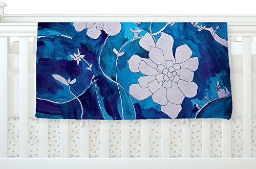 KESS InHouse Theresa Giolzetti ''Succulent Dance 1'' Fleece Baby Blanket, 40'' x 30'' by Kess InHouse