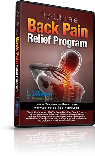 24Seven Wellness & Living The Ultimate Back Pain Relief Program Three Separate One Hour DVD