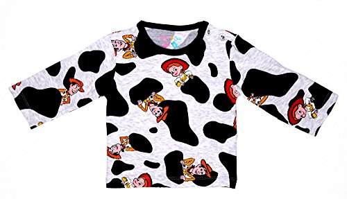Sofie & Sam Organic Cotton Full Sleeves Baby Tee T-Shirt For Age 9 To 12 Months - Cow Boy
