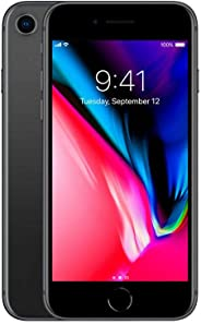 Apple iPhone 8 256GB Space Grey ATT/T-Mobile (Renewed)