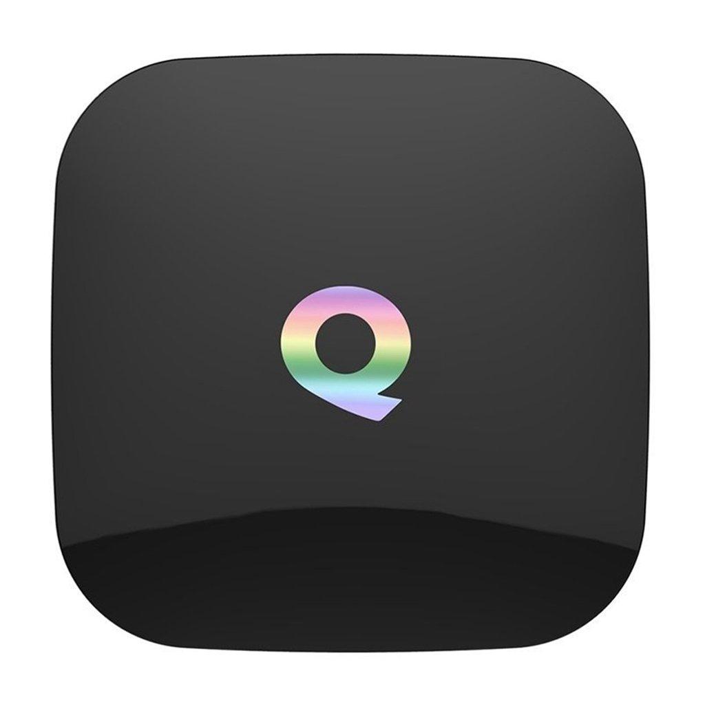 Miroha Q Box Amlogic S905X Android TV Box Android 6.0 Quad-core 2GB 16GB 2.4G/5.0G Dual Band Wifi Support 3D 4K UHD Smart TV Box Bluetooth 4.0 by Miroha