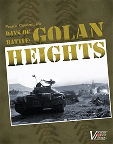 Days of Battle  Golan Heights - Historical War Boxed Board Game by Victory Point Games