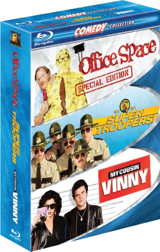 Comedy Collection (Office Space / Super Troopers / My Cousin Vinny) [Blu-ray]