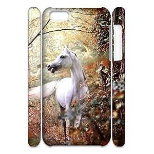 Newest Diy Horse Apple Iphone 5C 3D Cover Case UN787287