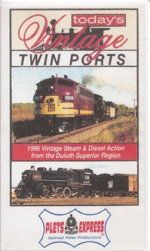 Today's Vintage Twin Ports: 1996 Vintage Steam & Diesel Railroad Action From the Duluth Superior Region